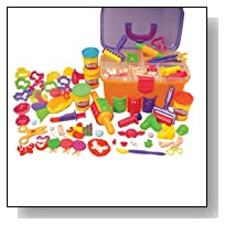 Play Doh Clay Center with storage case