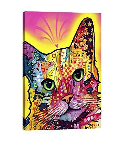 Dean Russo Gallery Tilt Cat Canvas Print
