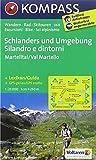 Schlanders und Umgebung /Silandro e dintorni: Wanderkarte mit Kurzführer dt./ital., Radrouten und Skitouren. GPS-genau. 1:25000 (KOMPASS-Wanderkarten)