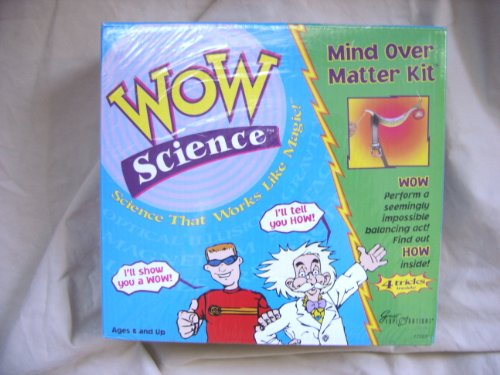 WOW Science Mind Over Matter Magic Kit - 1