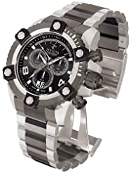 Invicta Men's Arsenal Reserve Swiss Chronograph Stainless Steel Watch