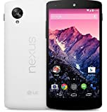 LG Google Nexus 5 D820 16GB Unlocked GSM 4G LTE Quad-Core Smartphone, White w/ 8MP Camera (Certified Refurbished)