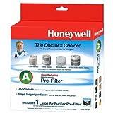 Honeywell HRF-AP1 Filter A Universal Carbon Pre-filter, Pack of 1