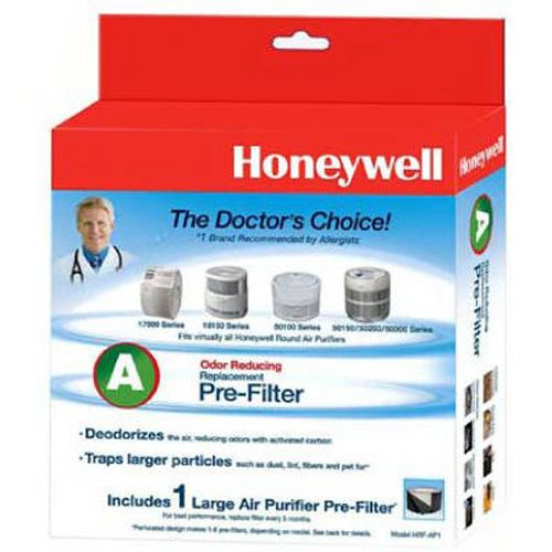 Honeywell Filter A HRF-AP1 Universal Carbon Air Purifier Replacement Pre-Filter (Air Filters Purifiers compare prices)