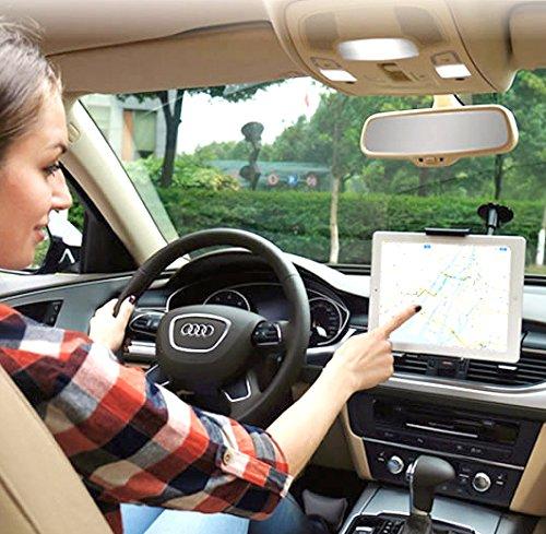 スマートフォン タブレット 車載 ホルダー 7インチ まで 対応