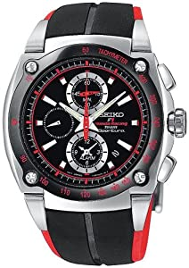 Seiko Men's SNA749 Sportura Formula One Honda Racing Watch
