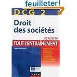 DCG 2 - Droit des sociétés 2013/2014 - 6e édition - Tout l'Entraînement
