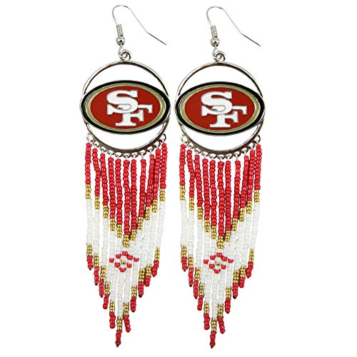 NFL San Francisco 49ers Dreamcatcher Earring