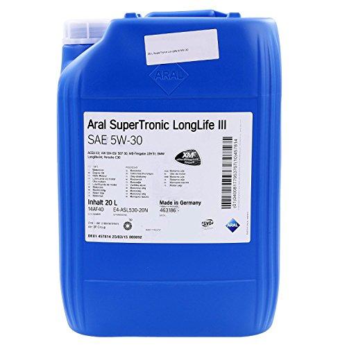 aral-10472-super-tronic-ll-iii-5w30-20-liter