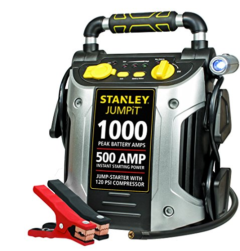 Stanley JC509 1000 Peak Amp Jump Starter with Compressor (Auto Starter compare prices)