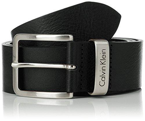 Calvin Klein - Cintura Mino Belt 1, Uomo, Nero (Black), 105