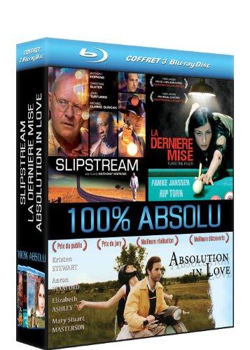 coffret 3 blu-ray disc 100% absolu : slipstream / la derniere mise / absolution in love