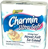 Charmin Ultra Soft Bathroom Tissue Family Rolls (18 Family Rolls)