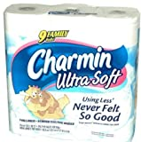 Charmin Ultra Soft Bathroom Tissue Family Rolls (27 Family Rolls (Economy Pack))