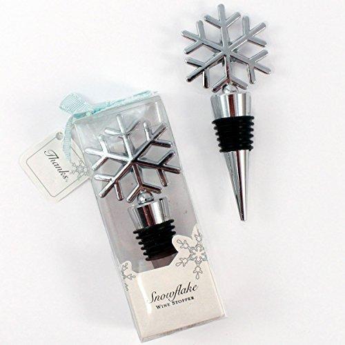 1-X-Weddingstar-6096-Snowflake-Shaped-Wine-Stopper