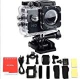 """Logicom Mini Shockproof Waterproof Cameras 1080p HD Video 2"""" LCD Screen Action Camera with mounts"""