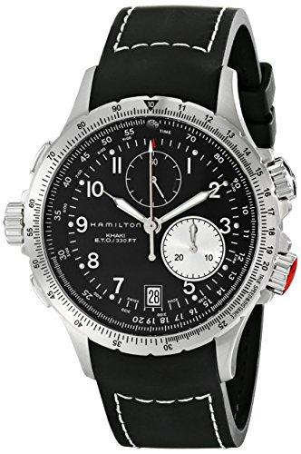 Hamilton  - Reloj Analógico de Automático para Hombre, correa de Acero inoxidable color Plateado