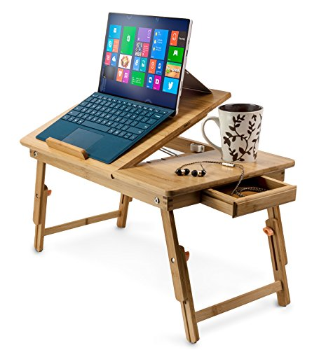aleratec bamboo adjustable laptop stand up to 15in folding bed table lazada malaysia