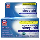 Rite Aid Maximum Strength Sleep Aid Softgels, 50 Mg 32 Ct.