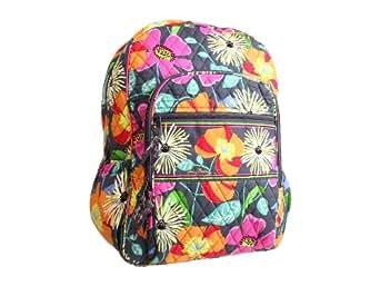 Vera Bradley Campus Backpack Jazzy Blooms