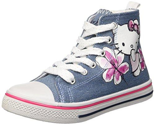 Hello Kitty S13856IAZ Scarpe a collo alto, Bambine e ragazze, Blu (163 Jeans), 31
