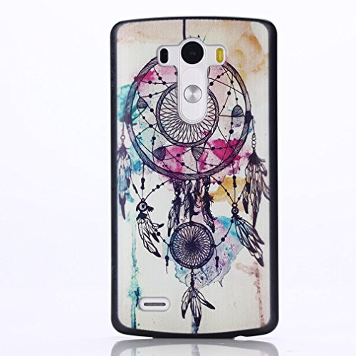 For LG G3 , ivencase Beautiful Dream Catcher [Pattern Hard] Skin Protective Back Case Cover Specially for LG G3 + One