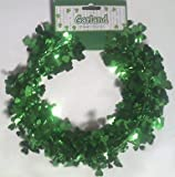 25 Feet of Cloverleaf Wire Garland for St Patricks Day