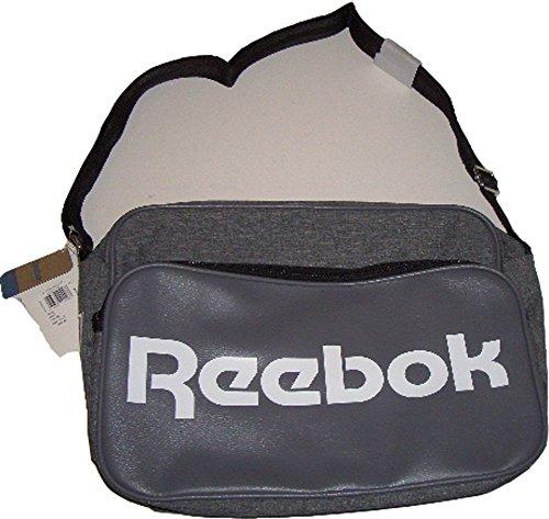 Reebok Classic Royal Borsa A Tracolla, Colore Grigio, Dimensioni: 37 Cm X 27 Cm X 15 Cm