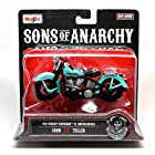 1946 Harley-Davidson FL Knucklehead * John JT Teller * Sons of Anarchy 2014 Maisto 1:18 Scale Motorcycle