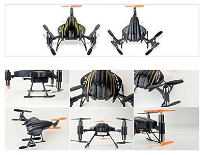Torro Scorpion S-Max 6047 | Tricopter mit 6-Achsen Gyro + 4-Kanal in Blau