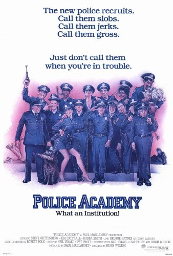 Police-Academy-Poster-27x40-Steve-Guttenberg-Kim-Cattrall-Bubba-Smith