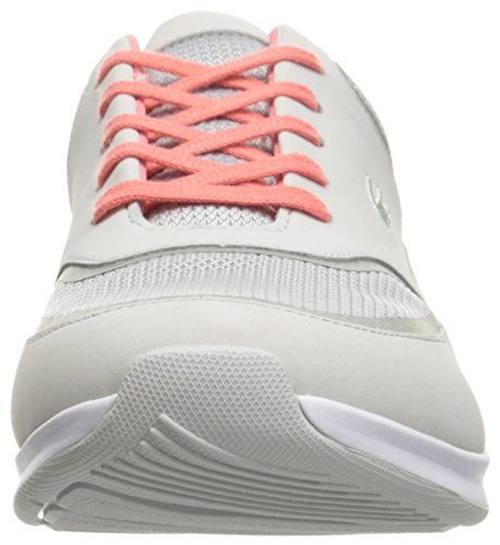 Lacoste Women's Chaumont Lace 316 2 Spw Lt Gry Fashion Sneaker, Light Grey, 6 M US