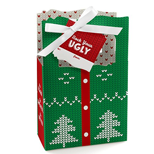 Ugly Sweater - Christmas Party Gift Bag - 12