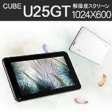 タブレットPC Cube U25GT 7インチ Android 4.1.1 1024×600 自然な日本語フォント 日本語入力 Googleプレイ対応 日本語説明書【宅】