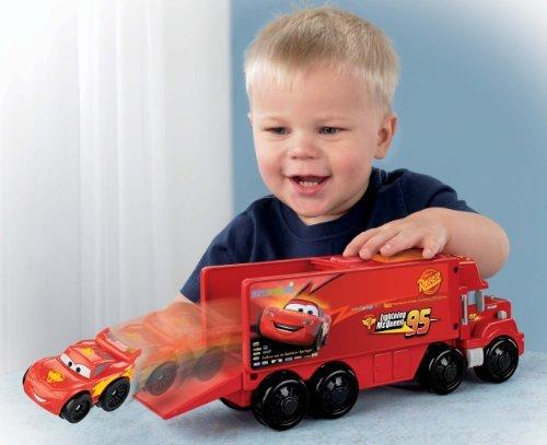 Fisher-Price Little People Wheelies Disney/Pixar Cars Mack Hauler & Lightning Mcqueen Toy, Kids, Play, Children front-795044