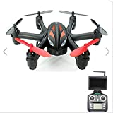 REALACC WLtoys Q282G 5.8G FPV With 2.0MP Camera 6-Axis RC Hexacopter RTF (Black Red)
