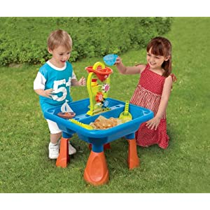 playgo 5450 sand und wassertisch spieltisch sandkasten ebay. Black Bedroom Furniture Sets. Home Design Ideas
