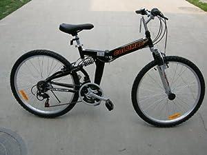 Columba 26 Alloy Folding Bike w. Shimano Black (RJ26A_BLK) by Columba