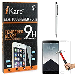 iKare Tempered Glass for OnePlus 2, Tempered Screen Protector for OnePlus 2 + Stylus with Ball Point Pen