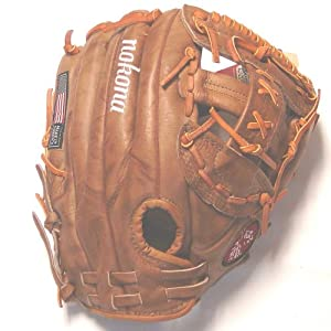 Nokona BM76 Banana Tan 12 inch Ball Glove (Right Handed Throw)