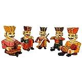 Rajasthali Wooden Musician Set WDN10079 - (9 in )