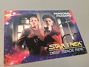 Star Trek Deep Space Nine Personal Phasers Prototype Card # S2 - The Station