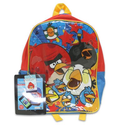 "1 piece of 15"" X 12"" X 5"" ANGRY BIRDS BACKPACK - 1"