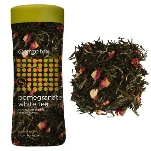 Pomegranate White Tea Loose Leaf Tea - 3.3Oz