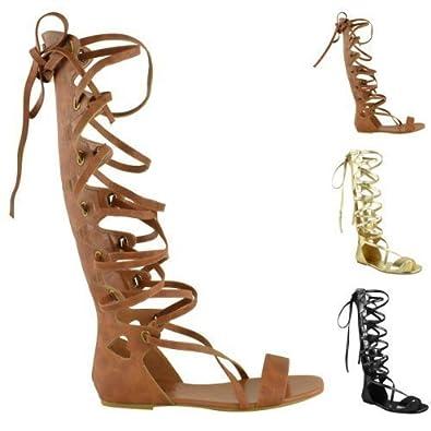 spartiate montant gladiator sandal. Black Bedroom Furniture Sets. Home Design Ideas