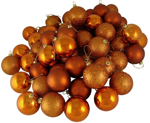 burnt orange shatterproof balls