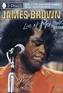 James Brown - Live at Montreux 1981 (+ Audio-CD) [Collector's Edition] [2 DVDs]
