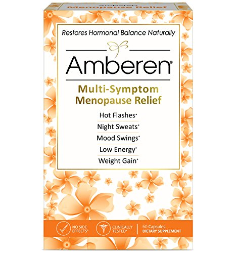 Amberen Menopause Menopause Relief Supplement For Hot