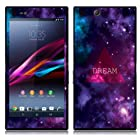 Fincibo (TM) Sony Xperia Z Ultra Togari C6802 C6806 C6833 Accessories Skin Vinyl Decal Sticker - Triangle Dream
