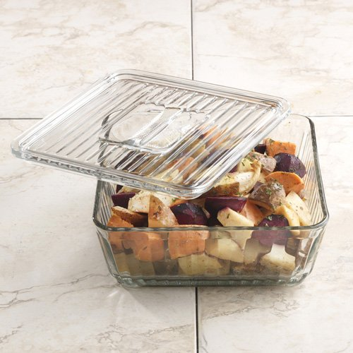 Anchor Hocking Bake N' Store Glass Dish and Lid: 12 Cup